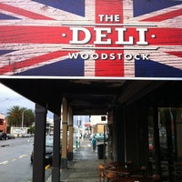 Photo taken at The Deli Woodstock by Jason N. on 7/28/2011