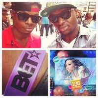 Photo taken at 106 & Park Studio by Trévon J. on 8/14/2012