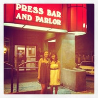 Photo taken at Press Bar & Parlor by Vida B. on 5/26/2012