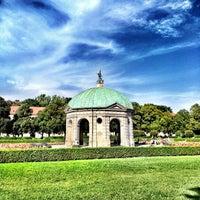 Photo taken at Hofgarten by Francesco V. on 8/25/2012