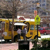 Photo taken at Curley's Q BBQ Food Truck & Catering by Brian G. on 3/14/2012