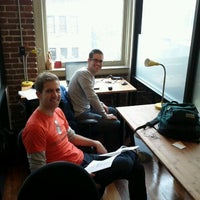 Photo taken at WeWork SOMA by Chris M. on 11/22/2011