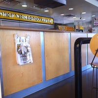 Photo taken at Which Wich? Superior Sandwiches by Kristi P. on 6/22/2012