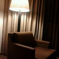 Photo taken at Radisson Hotel Vitória by Douglas A. on 4/17/2012