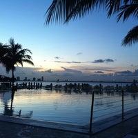 Photo taken at The Standard Spa, Miami Beach by Johnna M. on 8/25/2011