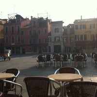 Photo taken at Campo Santa Margherita by Marta T. on 3/3/2012
