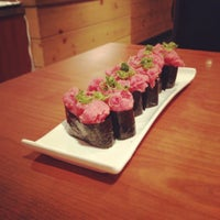Photo taken at East Japanese Restaurant (Japas 27) by Nina L. on 2/20/2012