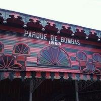 Photo taken at Parque De Bombas by vlad m. on 6/17/2011