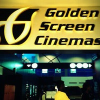 Photo taken at Golden Screen Cinemas (GSC) by Chee Leong C. on 1/3/2012