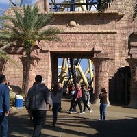 Photo taken at Montu by Alexa L. on 1/5/2012