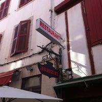 Photo taken at Restaurant Irritzina by Alex B. on 11/17/2011