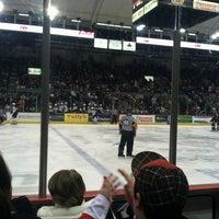 Photo taken at Syracuse Crunch Hockey Club by Laura P. on 12/31/2011