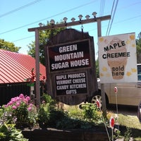 Photo taken at Green Mountain Sugar House by Virginia R. on 7/25/2012