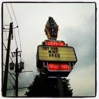 Photo taken at Zesto Drive-Ins by Amanda H. on 4/21/2012
