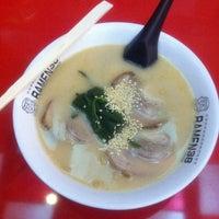 Photo taken at Ramen 38 (Sanpachi) by Leonardo S. on 8/14/2011