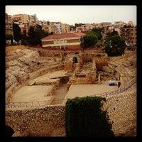 Photo taken at Circ romà de Tarragona by Jose C. on 5/18/2012