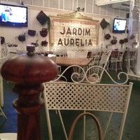 Photo taken at Jardim Aurélia Restaurante e Eventos by Leo B. on 8/31/2012