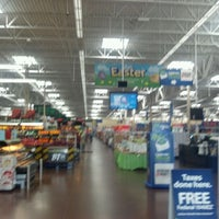 Photo taken at Walmart Supercenter by Stephanie H. on 3/13/2012