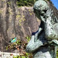 Photo taken at Praia Vermelha by Pedro M. on 8/23/2012