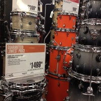 Photo taken at Guitar Center by Jessica D. on 8/3/2012