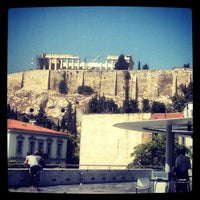 Photo taken at Cafe & Restaurant at Acropolis Museum by Eric L. on 9/5/2012
