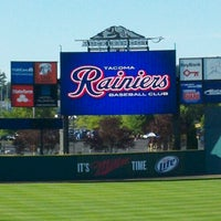 Photo taken at Cheney Stadium by Jason K. on 8/4/2012