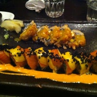Photo taken at Barracuda Sushi by Babak H. on 5/6/2012