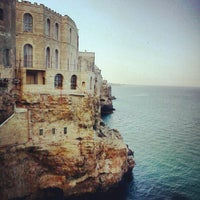 Photo taken at Grotta Palazzese by Paolo G. on 5/31/2012