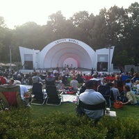 Photo taken at Levitt Shell by Gavin A. on 6/10/2012
