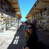 Photo taken at Cementerio de Playa Ancha by Gino P. on 3/18/2012