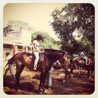 Photo taken at Delhi Riding Club by Hiroshi O. on 8/12/2012