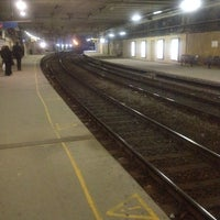 Photo taken at Brussels-Schuman Railway Station by Charles N. on 3/12/2012