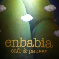 Photo taken at enBabia | Café & Pauses by Carmen S. on 8/13/2012