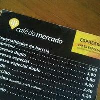 Photo taken at Café do Mercado by Paulo M. on 6/30/2012