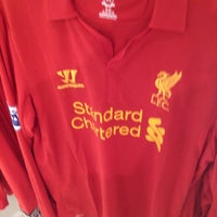 Photo taken at Liverpool FC Official Club Store by Gareth I. on 6/4/2012