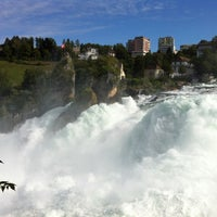 Photo taken at Rheinfall by Charle L. on 8/30/2012