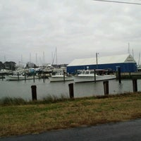 Photo taken at Deal Island Harbor by Donna H. on 12/21/2011