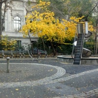 Photo taken at Central Park - Pat Hoffman Friedman Playground by Jonathan H. on 11/19/2011