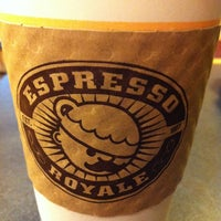 Photo taken at Espresso Royale Cafe by Daniel M. on 7/27/2012