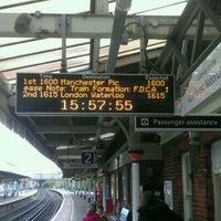 Photo taken at Brockenhurst Railway Station (BCU) by Rob on 10/25/2011