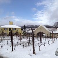 Photo taken at St.Cousair Winery by Kazutaka N. on 3/31/2012