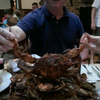 Photo taken at Ocean Pride Restaurant & Bar by Brandon N. on 4/21/2012