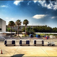 Photo taken at Palm Beach International Airport (PBI) by Christian O. on 6/14/2012