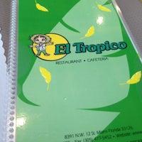 Photo taken at El Tropico Cafe by Jose G. on 2/16/2012