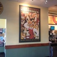 Photo taken at Einstein Bros Bagels by Sunshine D. on 5/9/2012