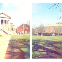 Photo taken at Syracuse University Quad by Alexandra-Marie F. on 3/19/2012