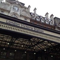 Photo taken at London Victoria Railway Station (VIC) by Faisal H. on 5/31/2012