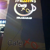Photo taken at Masooms Cafe Xo by Usmaan H. on 8/12/2011