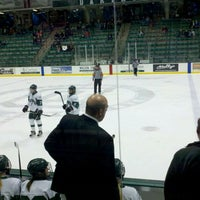 Photo taken at Thompson Arena at Dartmouth by Cassondra T. on 11/26/2011