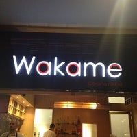 Photo taken at Wakame by Juan david C. on 3/23/2012